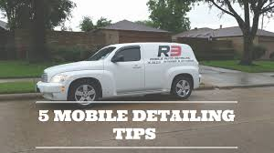5 mobile car detailing business tips