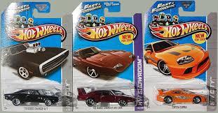 toyota supra fast and furious amazon com 2013 wheels fast u0026 furious set of 3 u002770 dodge