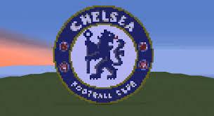 Chelsea Logo Chelsea Logo Logo Minecraft Chelsea Fc Pixel Art Football Soccer Futbol Bpl Epl