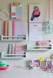 Peg Board Shelves by 32 Smart And Practical Pegboard Ideas For Your Home Digsdigs