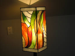 stained art glass lamp and fixtures by greg locke schomberg