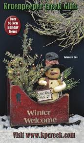 kp creek volume 9 2011 kp creek gifts country art and snowman
