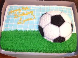 soccer cake soccer cake view 1