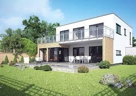 wohnflã chenberechnung balkon architektenhaus stockholm fertighaus mit flachdach und balkon