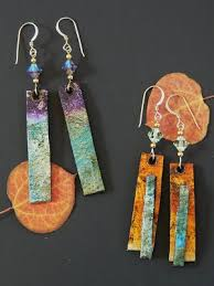 paper mache earrings unglued give the gift of paper recycled paper earrings paper
