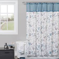 bath home decor touch of class passell shower curtain slate blue 72 x 72