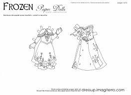 paper dolls coloring pages imagiterra frozen paperdolls 4 jpg