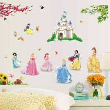 princess wall decals plan ideas inspiration home designs image of disney princess wall decals