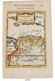 Southern Caribbean Map by Small French Copperplate Engraved Map Of The Southern Caribbean