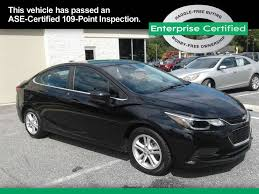 used black chevrolet cruze for sale edmunds