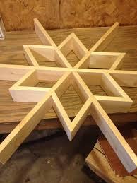 let it snow my diy wooden snowflake shelf