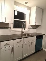 home depot kitchen cabinets hton bay hton bay white shaker kitchen cabinets with subway tile