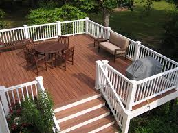 composite decking and rails