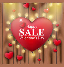 s day sales s day and feelings sale background vector image