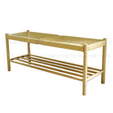 Shoerack Bench Decor8 Modern Furniture Cornell Solid Wood Bench And Shoe Rack