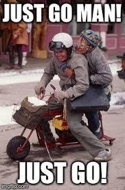 Funny Motorcycle Meme - dumb dumber motorcycle experience imgflip