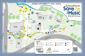 Festival Map Schoolforce Save The Music Festival 2017 Schoolforce