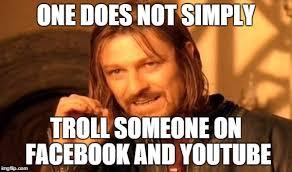 Facebook Troll Meme - trolling someone on fb imgflip