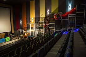 movie theater at home at these movie theaters kids can play on a jungle gym next to