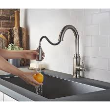 Kitchen Faucet Pull Down Stainless Steel Breckenridge Pull Down Kitchen Faucet F 529