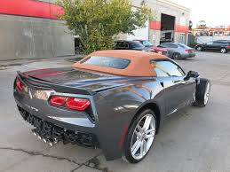 damaged corvettes for sale fs 2014 chevy corvette stingray convertible damaged in wrecked