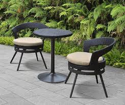 Wicker Bistro Table And Chairs Patio Furniture Big Lots
