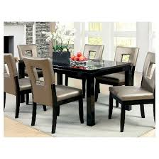 Black And Wood Dining Table Iohomes Glass Insert Table Top Dining Table Wood Black Target