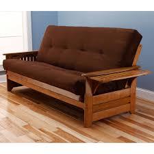 somette ali phonics multi flex honey oak full size wood futon