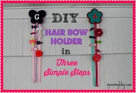 hair bow holders diy hair bow holder in 3 simple steps nj