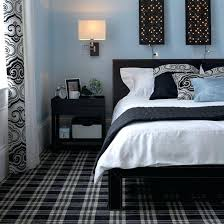 Grey White Black Purple Bedroom Grey And Black Bedroom Accessories - Blue and black bedroom ideas