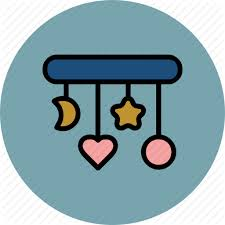 baby circle crib heart moon star toys icon icon search engine