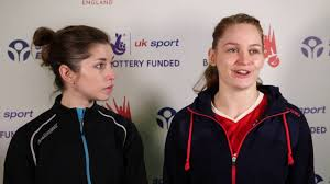 heather olver u0026 lauren smith call for support at yonex all england