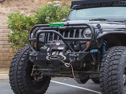 jeep stinger bumper jeep bumper trail grill guard 07 pres wrangler jk jku front steel