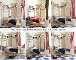 Child Bed Frame House Bed Bed House Kid S Nursery Bed Wooden House Bed