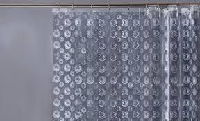 Shower Curtain Clear Bathroom Helios Clear Vinyl Shower Curtains Bathroom Sizes