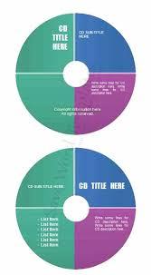 cd dvd label template