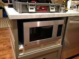 Microwave In Kitchen Cabinet by Design Dump How To Fake A Built In Microwave