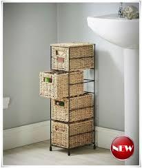 Bathroom Basket Storage Storage Basket Stand Perplexcitysentinel Com