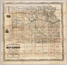 Ks Map New Map Of Kansas And The Gold Mines David Rumsey Historical Map