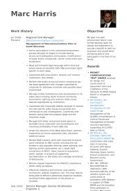 Leasing Manager Resume Sample by Site Manager Resume Samples Visualcv Resume Samples Database
