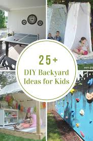 Kid Backyard Ideas Diy Backyard Ideas For The Idea Room