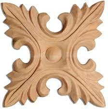 wood rosettes and sarasota carved wood rosettes