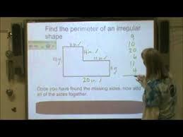 area u0026 perimeter of irregular shapes youtube