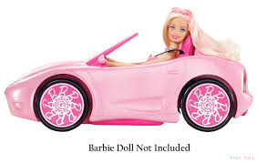 barbie convertible кабриолет barbie glam convertible розовый сша w3158 купить