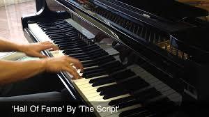 Piano Covers Sheet Music by U0027hall Of Fame U0027 By U0027the Script U0027 Piano Cover Sheet Music