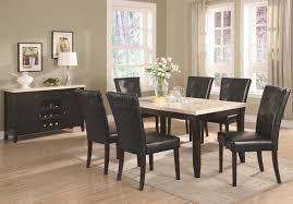 stylish ideas marble top dining room table splendid design