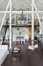 modern rustic parwółki masuria home by jam kolektyw open floor