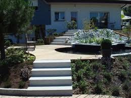 bloc marche escalier exterieur réalisations d u0027escaliers en pierre en extérieurs pour le jardin