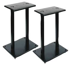 Studio Monitors On Desk by 9 Best Studio Monitor Stands The Musician U0027s Guide