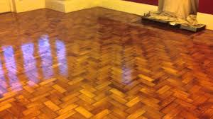 Laminate Flooring Wirral Sand And Seal Of A Pitch Pine Parquet Block Floor In Moreton